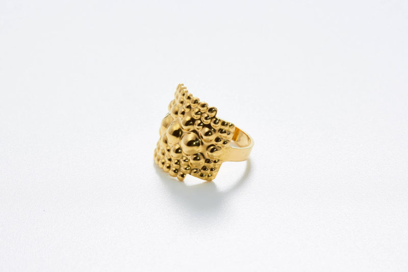 Ring Tusci Perugia polished gold