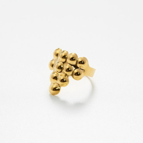 Ring Tusci Arezzo aus Gold poliert