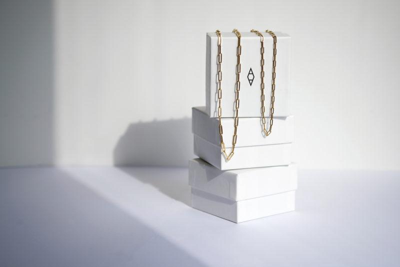 Lock chain thin