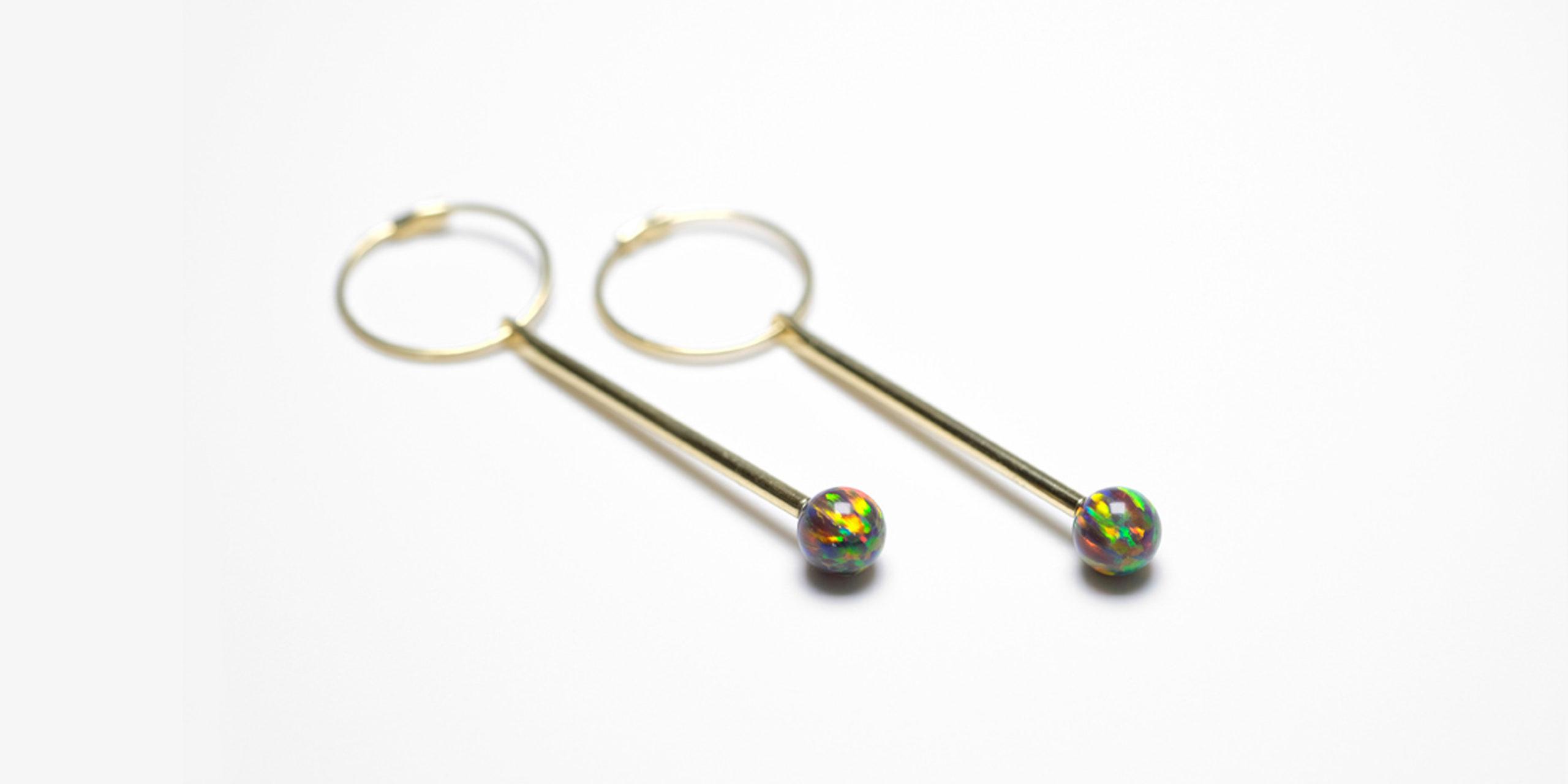 Neo Earrings gold