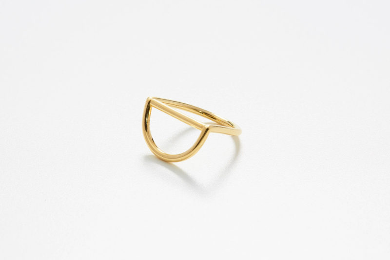 Circles Ring in Gold