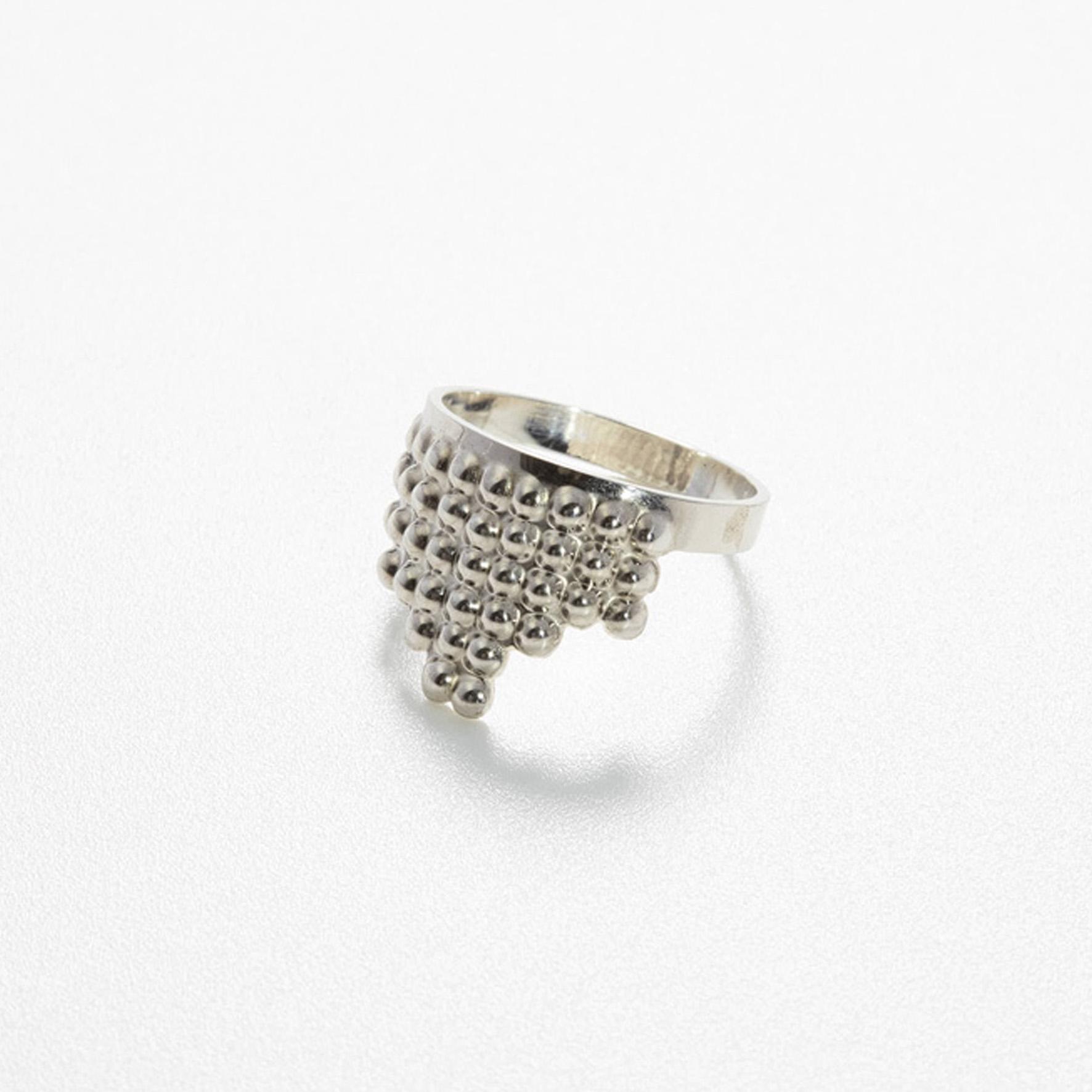 Tusci Ring Silver